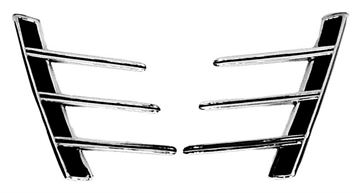 Picture of QUARTER PANEL ORNAMENT 66 PAIR : M3514 MUSTANG 66-66