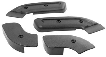 Picture of SEAT HINGE COVER 68-70 4 PCS : 3641RY MUSTANG 68-70