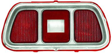 Picture of TAIL LAMP LENS 71-73 W/MOLDING : 3643MK MUSTANG 71-73