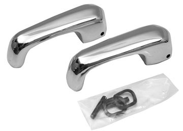 Picture of VENT WINDOW HANDLE EARLY 68 PAIR : M3529D MUSTANG 68-68