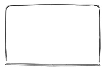 Picture of WINDOW MOLDING REAR 1971-73 FB : M3584A MUSTANG 71-73