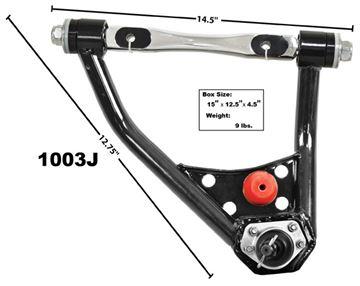 Picture of CONTROL ARM RH UPPER 67-69 TUBULAR : 1003J NOVA 68-74