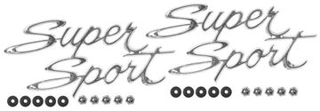 Picture of EMBLEM 66-67 SUPER SPORT REAR QTR : EM3047 NOVA 66-67