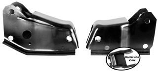 Picture of ENGINE MOUNT 62-67 PAIR **8 CYL** : 1632X NOVA 66-67