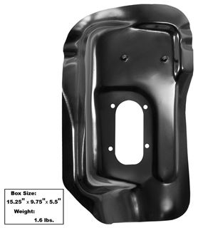 Picture of FLOOR PAN SHIFTER POD 1962-67 AUTO : 1636G NOVA 62-67
