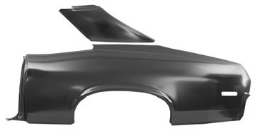 Picture of QUARTER PANEL FULL W/SAIL LH 70-72 : 1623B NOVA 70-72