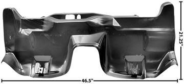 Picture of FLOOR/REAR TRANSITION PANEL 70-73 70-73 : 1001A CAMARO 70-73