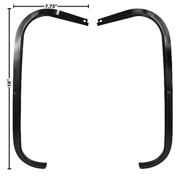 Picture of TRUNK WEATHERSTRIP CHANNEL 67/9 PR 67-69 : 1049LG CAMARO 67-69