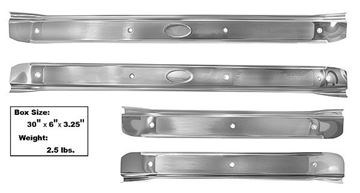 Picture of SCUFF PLATE 1968-72 STAINLESS SET 68-72 : M1342B CHEVELLE 68-72