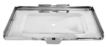 Picture of BATTERY TRAY BOTTOM 67-72 STAINLESS 67-72 : 1100JC CHEVY PICKUP 67-72