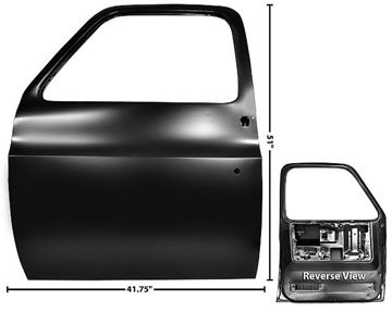 Picture of DOOR SHELL LH 73-76 73-76 : 1103KG CHEVY PICKUP 73-76