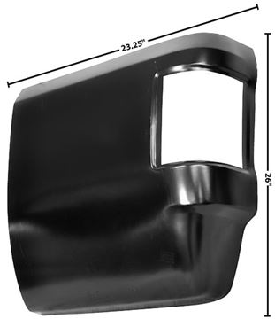 Picture of REAR BED CORNER LH 73-87 73-87 : 1187B CHEVY PICKUP 73-87