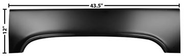 Picture of REAR WHEEL UPPER ARCH RH 73-87 73-87 : 1187C CHEVY PICKUP 73-87