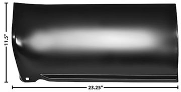 Picture of BED FRONT LOWER SECTION RH 73-91 73-91 : 1187E CHEVY PICKUP 73-91