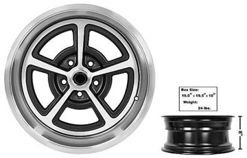 Picture of FORD MAGNUM ALLOY WHEEL 17 X 8 : FW178 MUSTANG 65-73