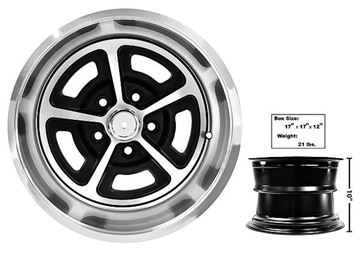 Picture of MAGNUM ALLOY WHEEL 15 X 10 W/CAP 65-73 : FW150 MUSTANG 65-73