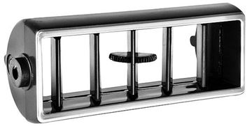 Picture of VENT A/C CENTER (BLACK/CHROME TRIM) : 1452K NOVA 1968-1974