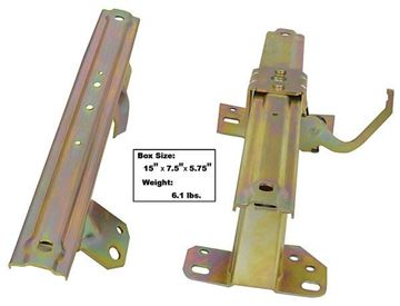 Picture of SEAT TRACK RH 62-64 2PCS/SET : 1700GE IMPALA 62-64