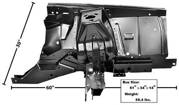 Picture of SHOCK TOWER/APRON ASSEMBLY LH 71-73 71-73 : 3630Z MUSTANG 71-73