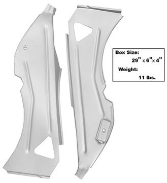 Picture of INNER QUARTER STRUCTURE BRACE 69-70 69-70 : 3644JWT MUSTANG 69-70