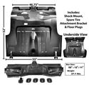 Picture of TRUNK FLOOR COMPLETE 1971-73 FASTBACK : 3648NK MUSTANG 71-73