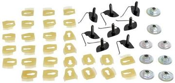 Picture of BODY SIDE MOLDING CLIPS 68-72 44 PC : M1470B CHEVELLE 68-72