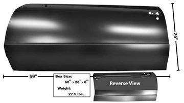 Picture of DOOR SKIN RH 86-88 : 1308 MONTECARLO 85-88