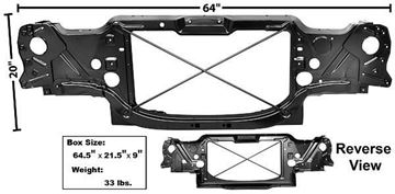 Picture of RADIATOR SUPPORT 78-81 : 1047XB CAMARO 78-81