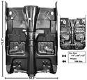 Picture of FLOOR PAN W/BRACES 75-81 A/T 75-81 : 1046TA FIREBIRD 75-81