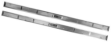 Picture of DOOR SCUFF PLATE 71-73 STAINLESS PR 71-73 : M3653A MUSTANG 71-73