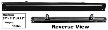 Picture of BED REAR CROSS SILL STEPSIDE 63-66 : 1160HA CHEVY PICKUP 63-66