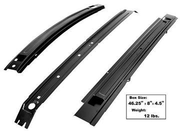 Picture of ROOF BRACE KIT 1971-73 FASTBACK : 3643ZF MUSTANG 71-73
