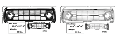Picture for category Grilles : Bronco