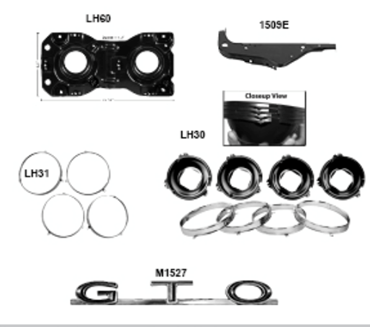 Picture for category Grilles : GTO