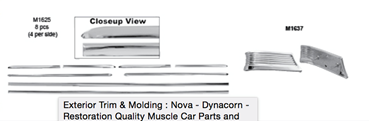 Picture for category Exterior Trim & Molding : Nova
