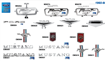 Picture for category Emblems : Mustang
