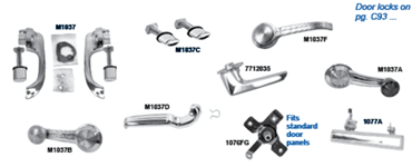 Picture for category Exterior Door Handles & Buttons : Camaro