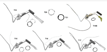 Picture for category Fuel Senders, Gaskets, Lock Rings : Camaro