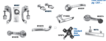 Picture for category Interior Door Handles & Cranks : Camaro