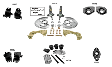 Picture for category Coil Spring Mounts & Retainers : Camaro