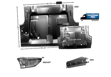 Picture for category Trunk Floor Pans : Challenger