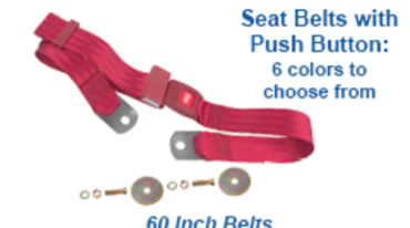 Picture for category Seat Belts : Chevelle