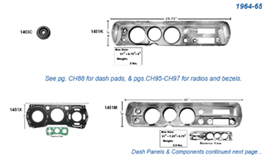 Picture for category Carrier Assemblies : Chevelle