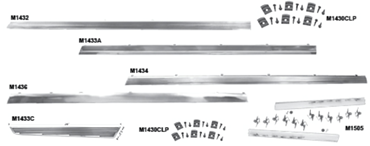 Picture for category Rocker Panel Molding : Chevelle