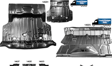 Picture for category Trunk Floor Pans : Chevelle