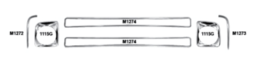 Picture for category Support & Reinforcement Bars : Chevy Pickup