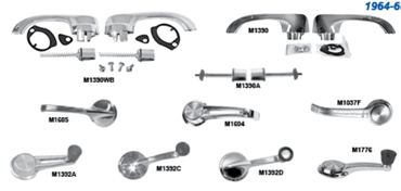 Picture for category Exterior Door Handles & Buttons : El Camino