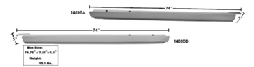 Picture for category Rocker Panel Molding : El Camino