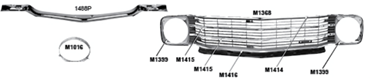 Picture for category Support & Reinforcement Bars : El Camino