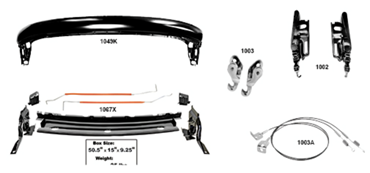 Picture for category Convertible Header Molding : Firebird